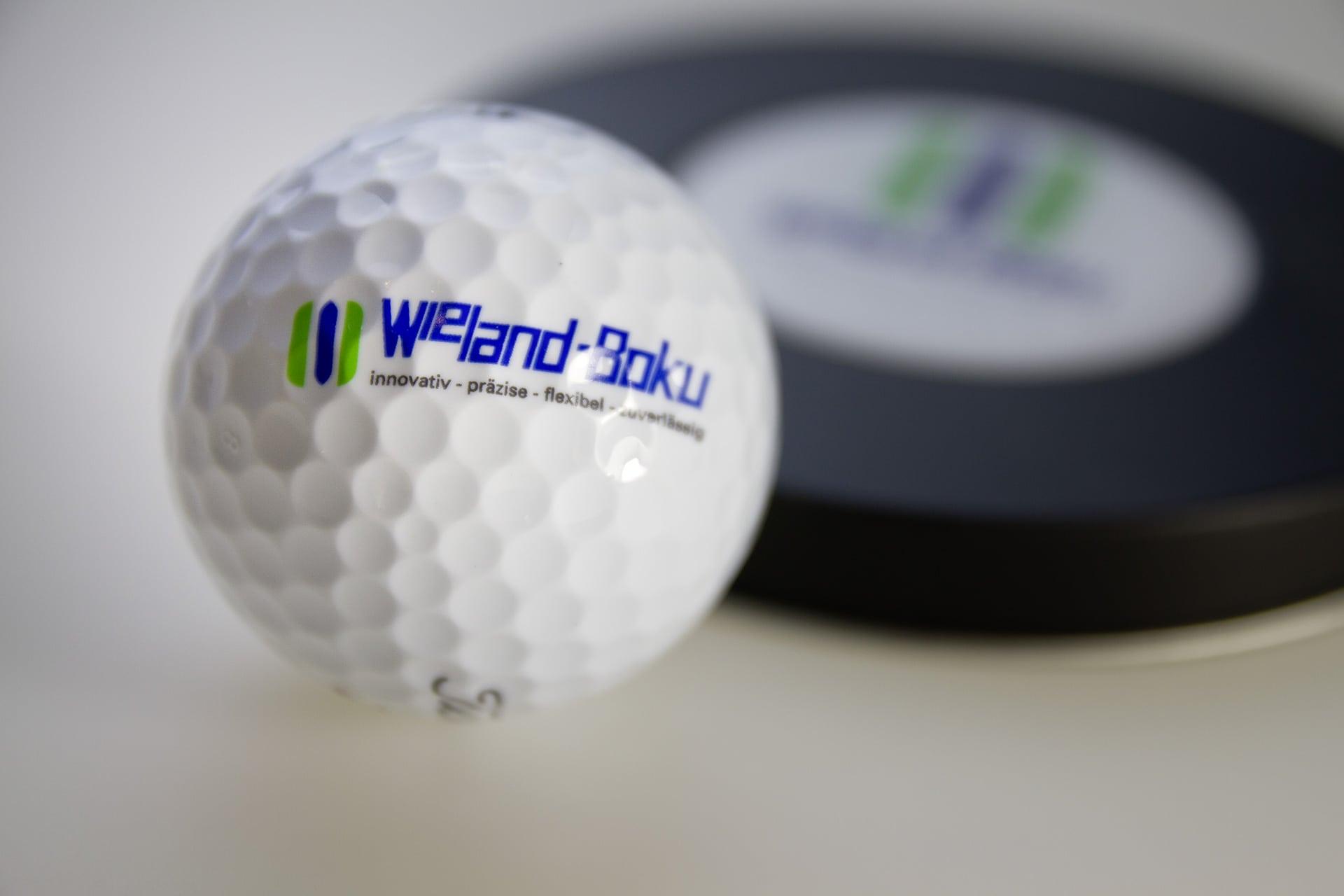 Golfball für die Wieland-Boku AG in der Schweiz