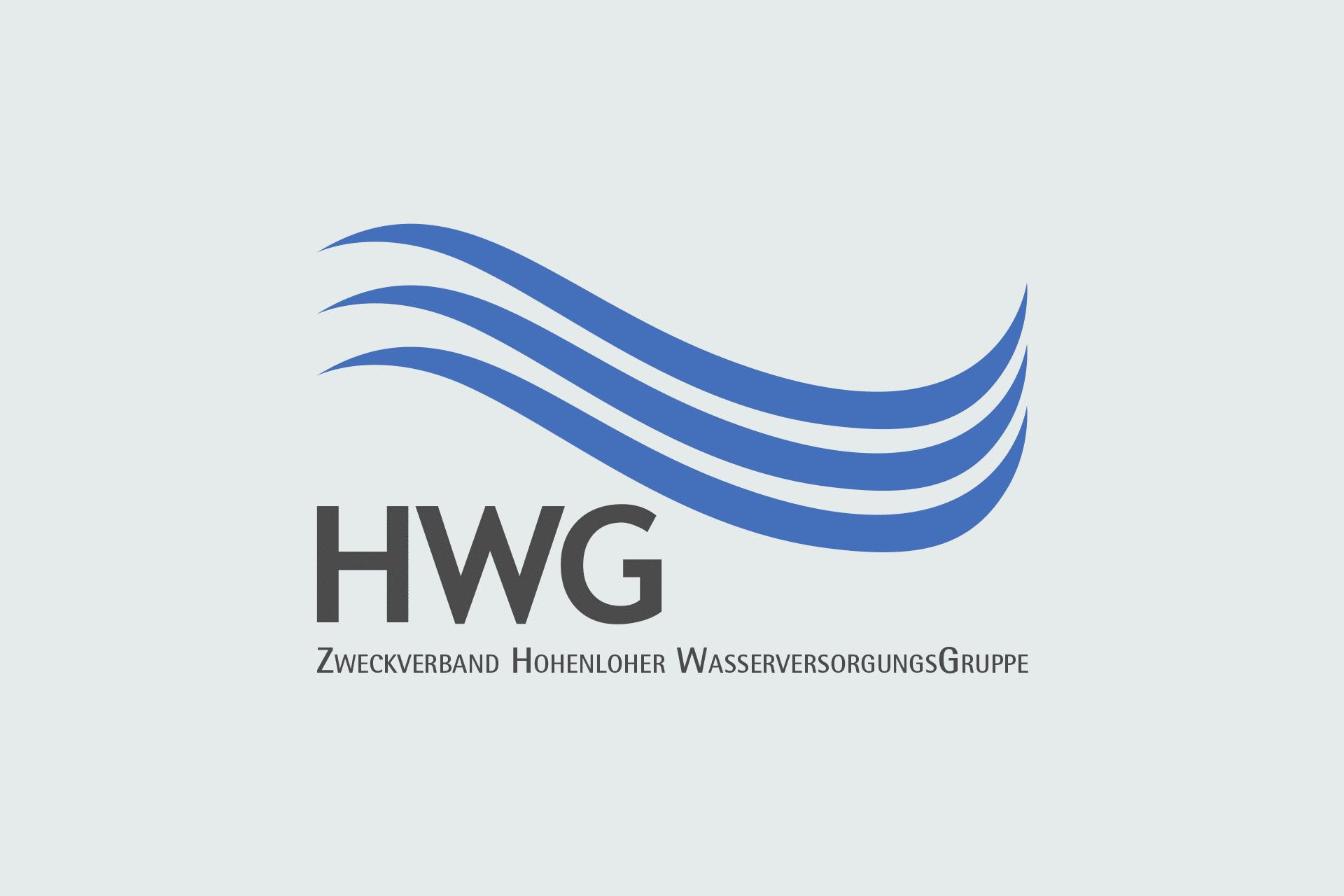 Logo für den Zweckverband Hohenloher-Wasserversorgungsgruppe HWG in Gerabronn