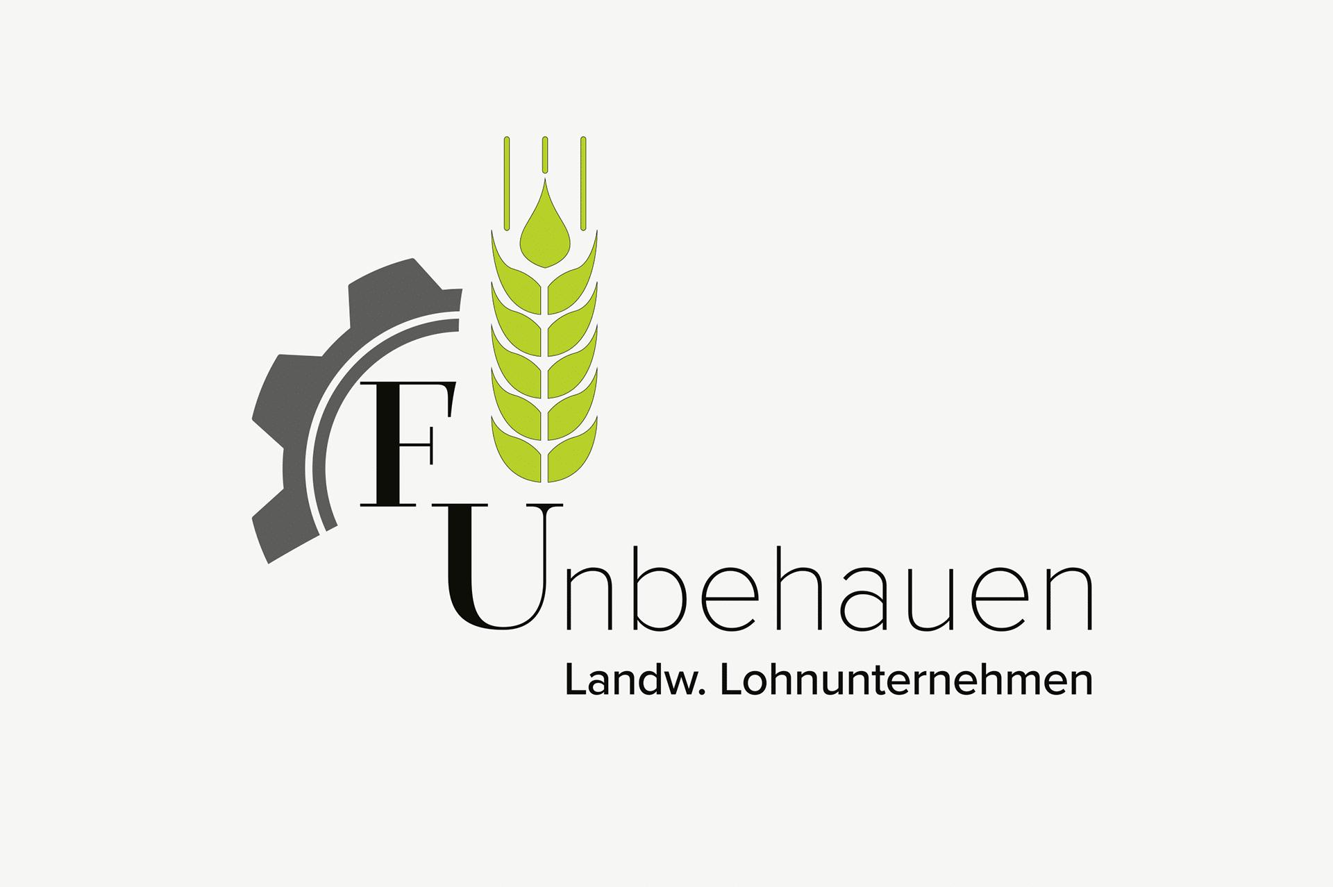 Lohnunternehmen Unbehauen / Logo