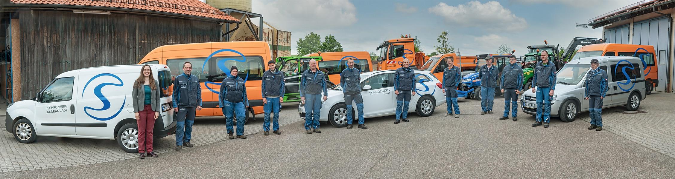 Neue Folierung der Baufahrzeuge der Stadt Schrozberg